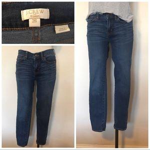J. Crew stretch high waist skinny jeans